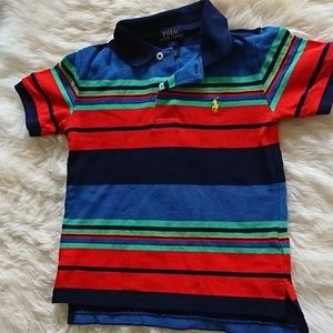 Short-sleeve polo shirt for boys